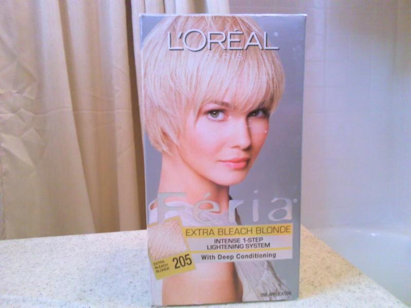 Loreal Feria Haircolor Review Extra Bleach Blonde Sara Tiemogo